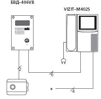 схема электрическая 406
